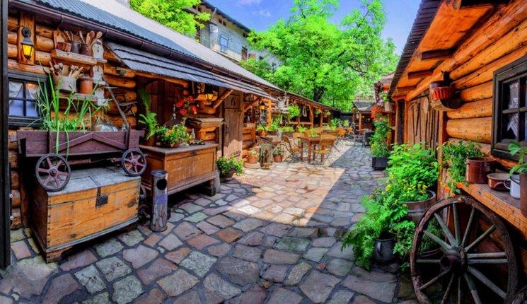 Ogródek w Restauracji Podkowa